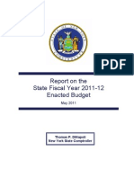 DiNapoli Budget Report