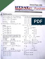 bitsat 2010 question paper