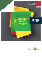 Champagne Ardennes au détour de ses livres catalogue 2011