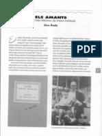 Poema 'Els amants' de Vicent Andrés Estellés - Comentari de Lluís Roda - 1993