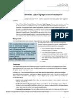 How Cisco Implemented Digital Signage Across the Enterprise