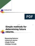 SAPM Future Returns and Risk