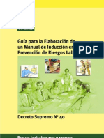 Guia de Elaboracion de Un Manual de Induccion