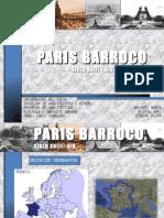 ECOLOGÍA. PARIS BARROCO