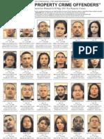 May 2011 Property Crimes