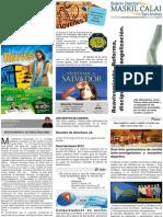 Boletín informativo MASKIL CALAI  Distrito de San Andrés.