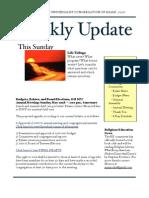 Weekly Update 2011.5.19