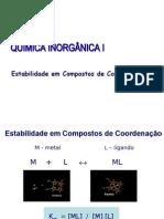 Constantes Estabilidade 1