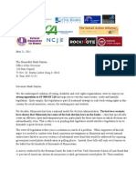Letter from Civil Rights groups to Gov Dayton on Voter ID bill