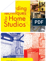 Recording Techniques for Home Studios