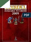 Citadel Mini's Catalog 2009