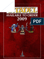 Citadel Mini's Catalog 2009
