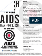 Join June 8 NYC Rally at Critical UN Meeting on HIV/AIDS