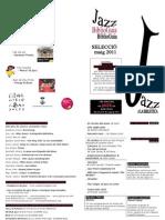 Guia de lectura jazz maig 2011 Biblioteca de Banyoles