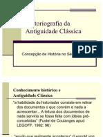 Historiografia da Antiguidade Clássica