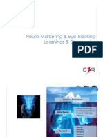 Neuro-Marketing & Eye Tracking Learnings & Companies