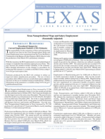 Texas Labor Market Review-April 2011