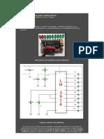 Voltímetro luminoso para radiocontrol
