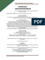 Resumo 5 FILOSOFIA MODERNA - CONTINUAÇÃO DESCARTES