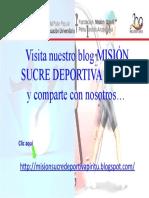 Mision Sucre Deportiva Piritu.