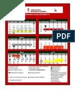 calendario COBAQ