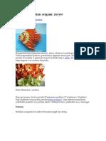 Diagrame Origami 3D Peste, Brad