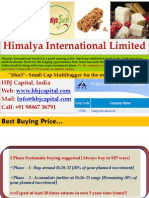 HBJ Capital - 10in3 Research Report for Sept'09 - Himalya International Ltd