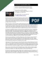 4c's - Bio of Fernando M. Torres-Gil, M.S.W., Ph.D.