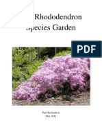 The Rhododendron Species Garden