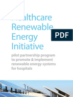 Healthcare Renewable Energy Initiative (HREI)