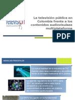 La Propuesta de La CNTV