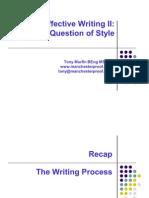 Writing Effectively 2