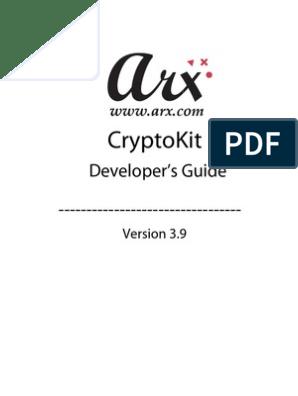 CryptoKit Developers Guide | Public Key Cryptography | Key
