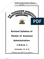 MBA _compulsory III &IV