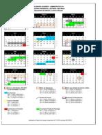 Calendario Pregrado Universidad Yacambu Cabudare 2011