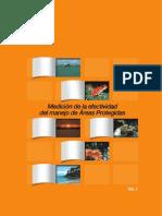 Medición de la Efectvidad del manejo de Áreas Protegidas en Centroamerica