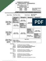WREBS Schedule