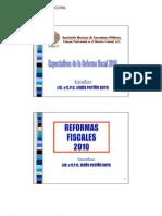 1 Espectativas de La Reforma Fiscal 2010
