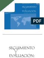 Banco Mundial Seguimiento y Evaluacion Instrumentos