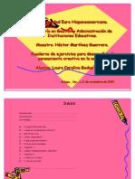Cuadernillo  de las  (HBP)