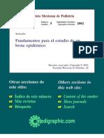 Fundamentos para el estudio de un Brote epidemiológico