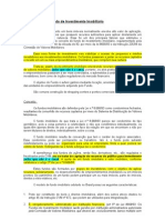 Constituição de Fundo de Investimento Imobiliário