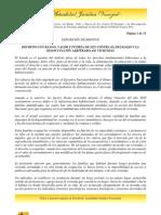 DECRETO CON RANGO, VALOR Y FUERZA DE LEY CONTRA EL DESALOJO Y LA DESOCUPACIÓN ARBITRARIA DE VIVIENDAS
