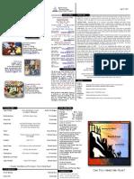 05-21-11 Bulletin