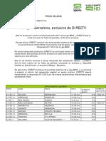 Programación Deportiva DirecTV