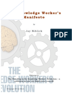 The Knowledge Workers Manifesto