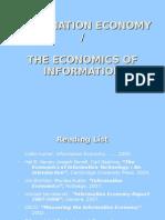 Ekonomi Informasi - Pengantar 1