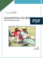 DIAGNÓSTICO DE GÉNERO DE SANTIAGO DE CH