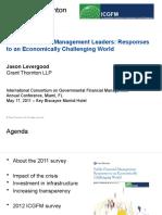 ICGFM Survey & Results - Levergood