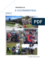 Informe Cuatrimestral 2011